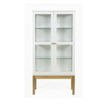 Bibliotecă/ vitrină Woodman AbbeyWood, alb de la Woodman