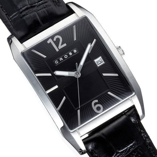 Pánské hodinky Cross Gotham Black, 33x38 mm