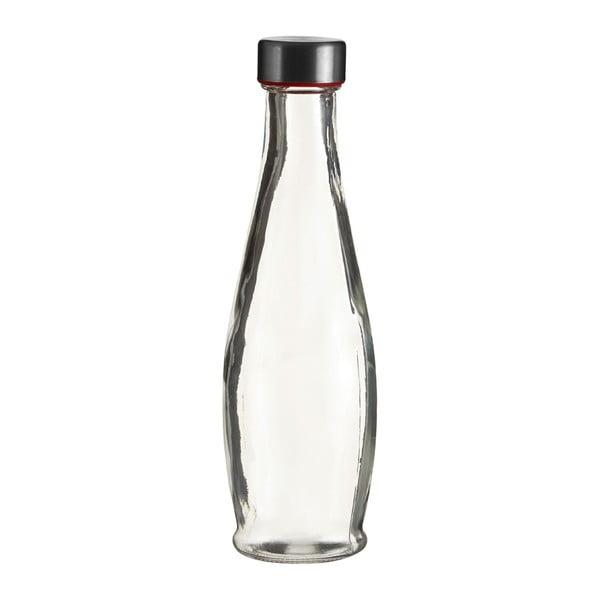 Skleněná lahev Premier Housewares Clear, výška25cm