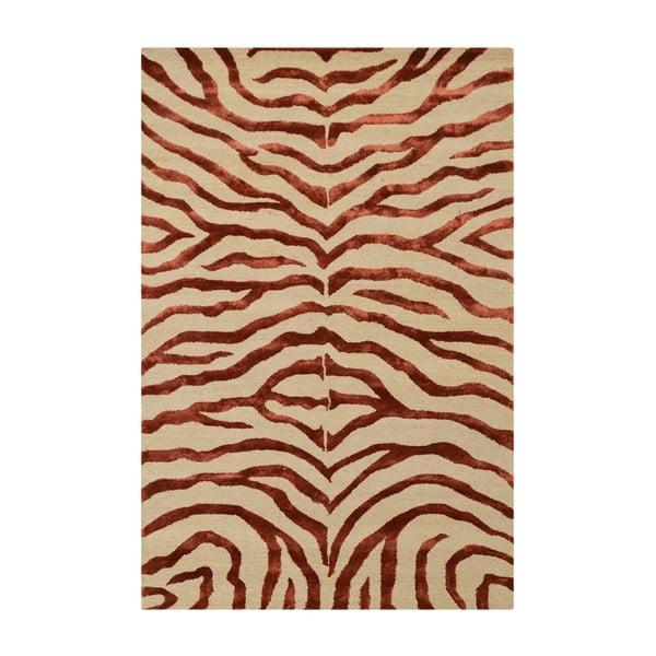 Koberec zebra Rust, 153x244 cm