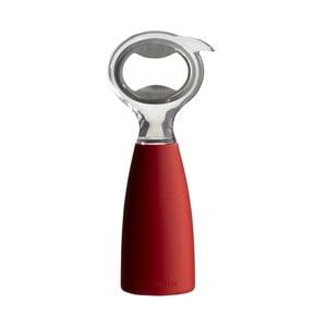 Červený otvírák na lahve Steel Function Stand Up