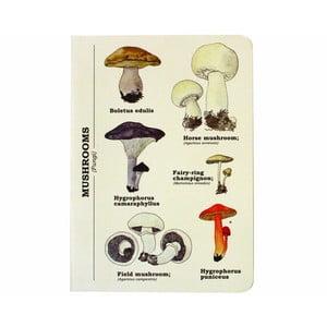 Zápisník Gift Republic Multi Mushroom, vel.A6