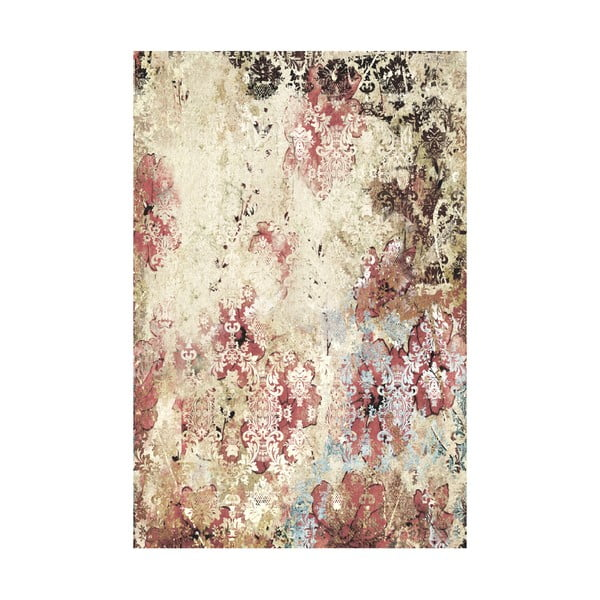 Koberec z vinylu Vintage Wallpaper, 99x120 cm