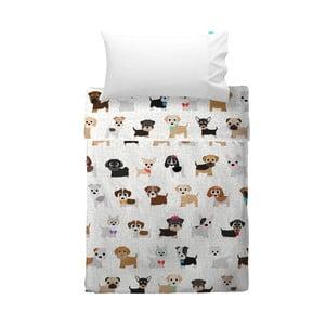 Dětský povlak na polštář a přehoz Mr. Fox Dogs, 120x180 cm