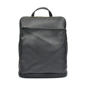 Černý kožený batoh Isabella Rhea Cecilia