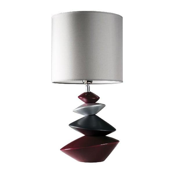Stolní lampa Iza, tmavá