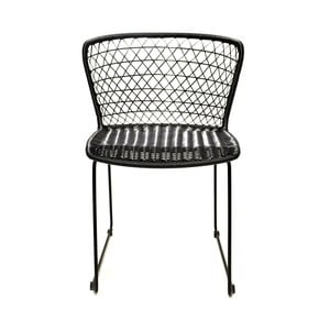 Sada 2 židlí ze syntetického ratanu RGE Korint