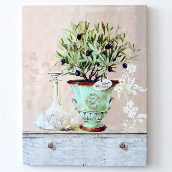 Obraz na plátně Květina ve váze