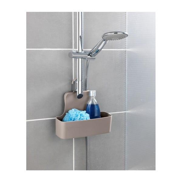 Béžová závěsná polička do sprchy Wenko Barcelona