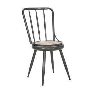 Tmavošedá židle Mauro Ferrettii Berlin