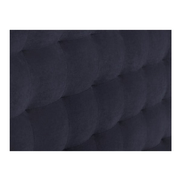 Tmavě modré čelo postele Windsor & Co Sofas Nova, 140 x 120 cm