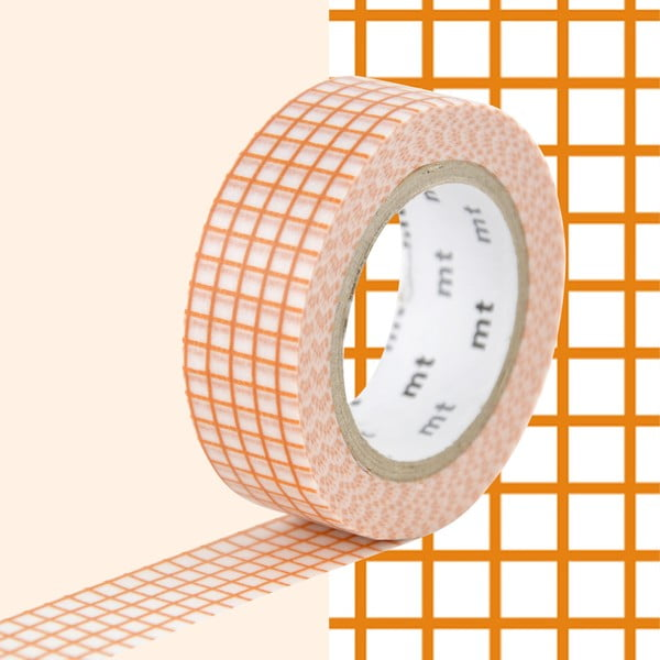 Bandă decorativă Washi MT Masking Tape Ida, rolă 10 m