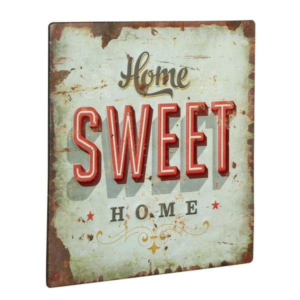 Cedule Home sweet home, 30x30 cm