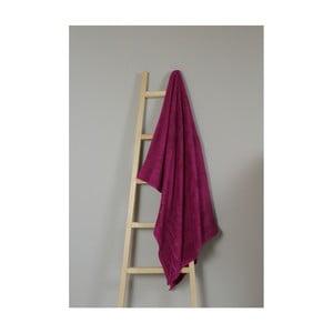 Fuchsiový bavlněný ručník My Home Plus Bath, 100 x 150 cm