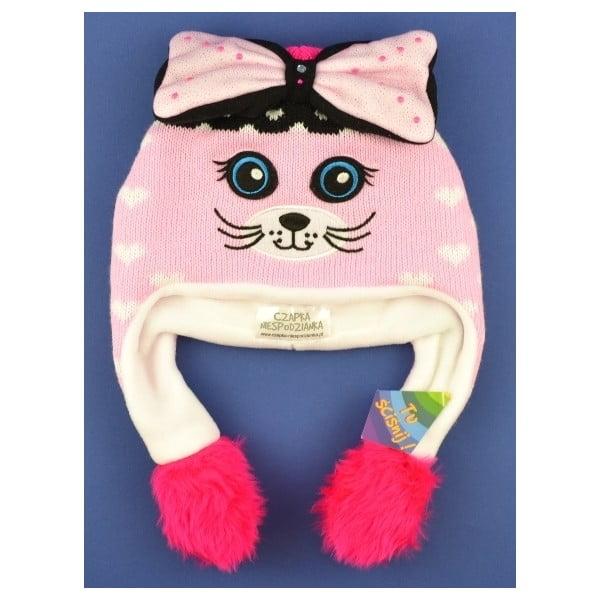 Dívčí čepice Kitty