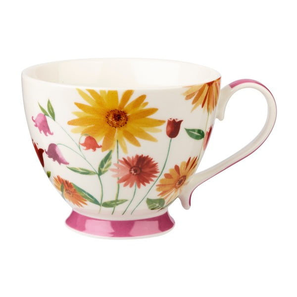 Couture Petal Summer csontporcelán csésze, 415 ml - Churchill China