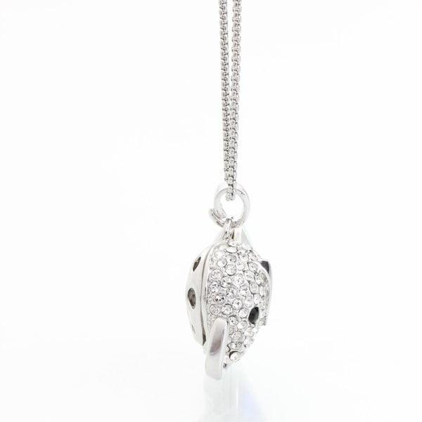 Náhrdelník se Swarovski Elements Laura Bruni Yellow Elephant