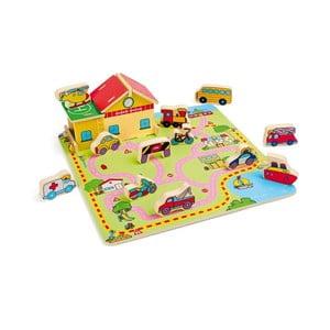 Dřevěná hračka Legler Traffic