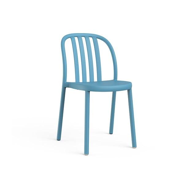 Sada 2 modrých záhradných stoličiek Resol Sue