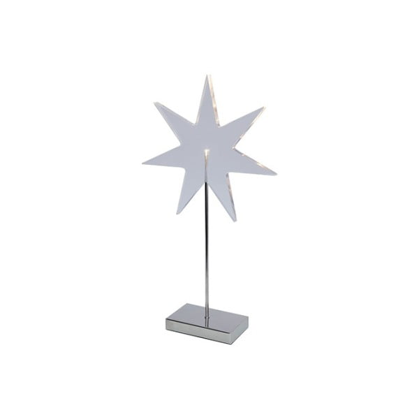 Svítící hvězda se stojanem Best Season Star Silver