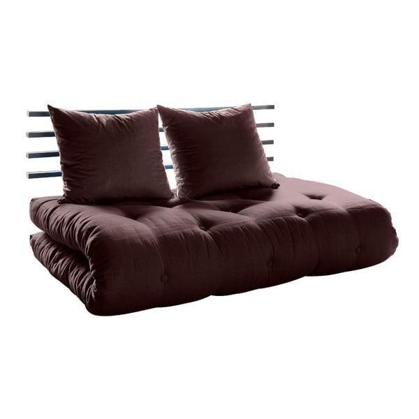 Canapea extensibilă Karup Shin Sano Black/Brown