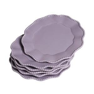 Sada talířů Parma, 6 ks, fialové