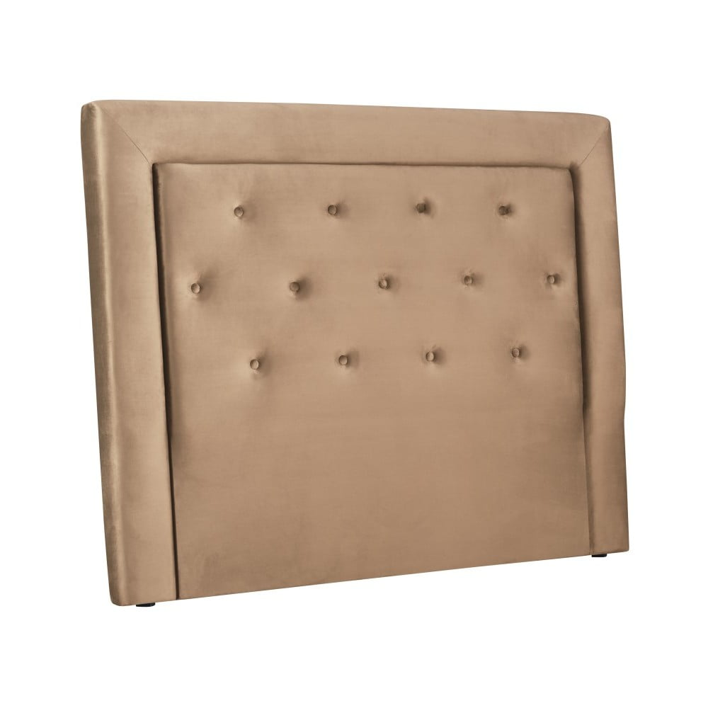 Béžové čelo postele Cosmopolitan Design Cloud, šířka 140 cm
