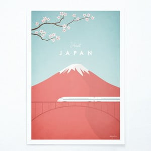 Plakát Travelposter Japan, A3