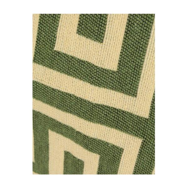 Zelenobéžový koberec Ya Rugs Kare, 120x180cm