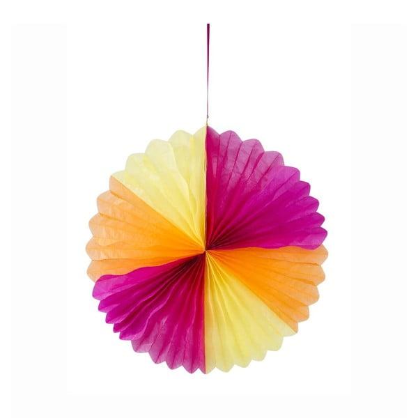 Papírová dekorace Honeycomb Fiesta