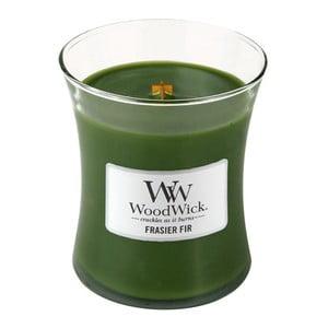 Lumânare parfumată WoodWick, aromă de brad, 60 ore