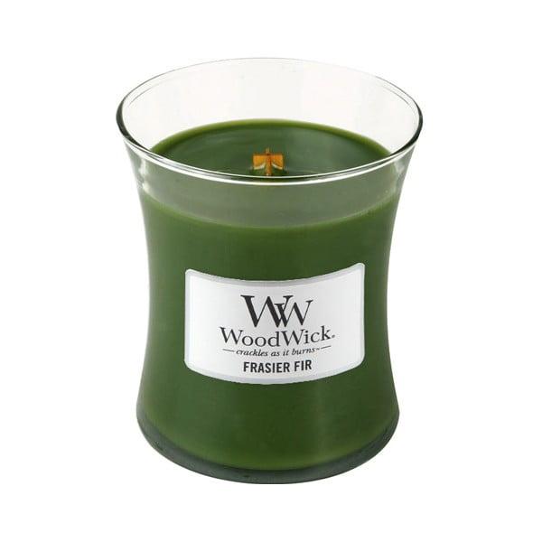Svíčka s vůní jedlového dřeva WoodWick, dobahoření60hodin