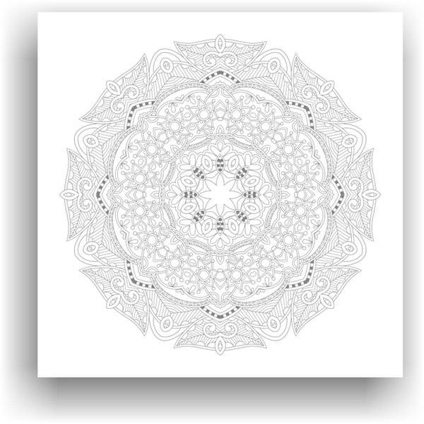 Obraz k vymalování Color It no. 99, 50x50 cm