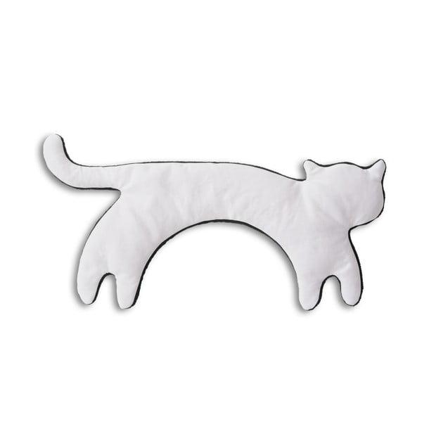 Nahřívací polštářek Kočka Minina, bílý