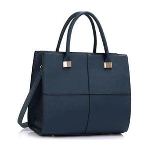 Geantă L&S Bags Squadro, albastru închis