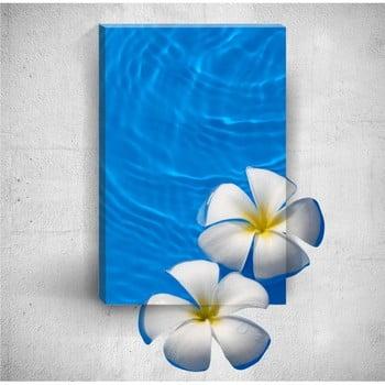 Tablou de perete 3D Mosticx Flowers In Water, 40 x 60 cm