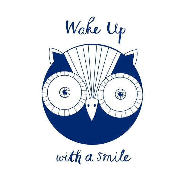 Povlak na polštář Karin Åkesson Design Wake Up Owl, 52x72 cm