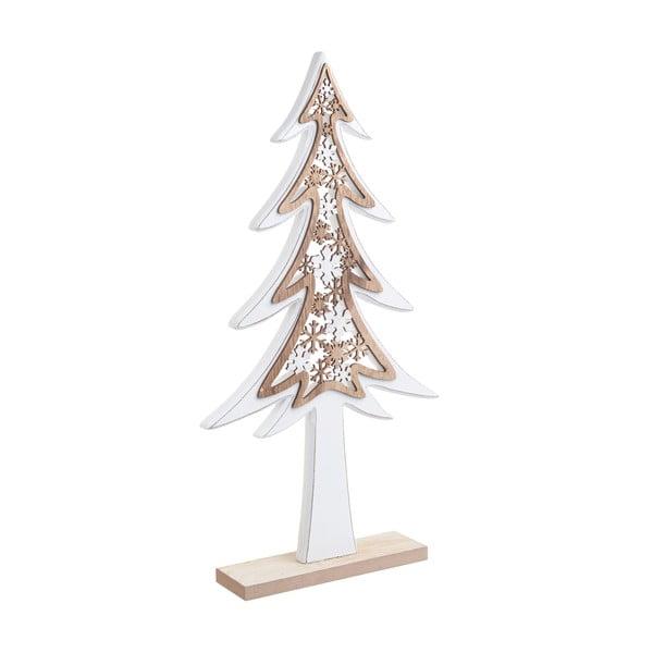 Vánoční dřevěná dekorace ve tvaru stromku InArt Rosie