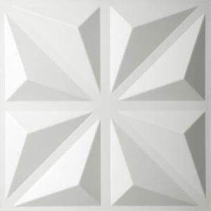 Bambusové panely na zeď Diamond, 10 ks