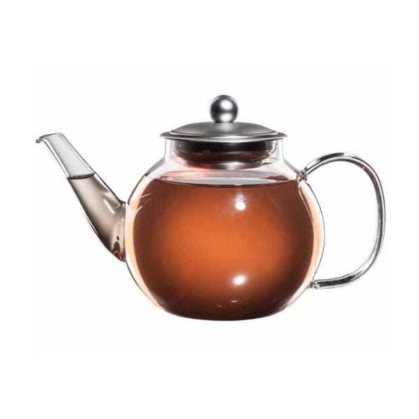Skleněná konvička na čaj se sítkem bloomix Mao Feng