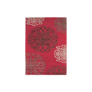 Vlněný koberec Tangier Red 120x170 cm