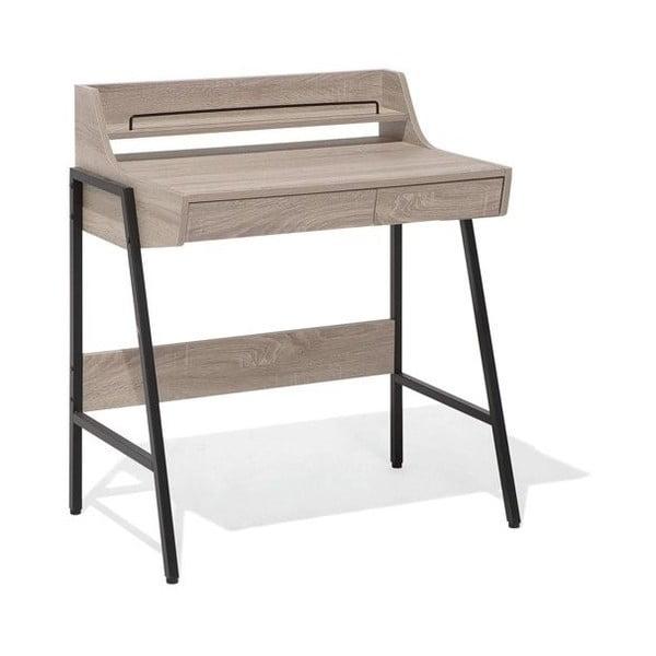 Pracovní stůl v dekoru světlého dřeva Monobeli Vilia