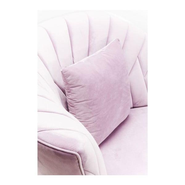 Canapea cu 2 locuri Kare Design Cabaret, roz