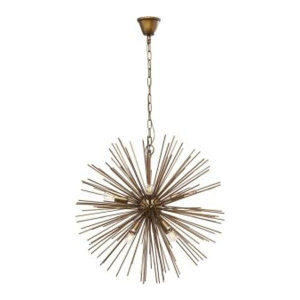 Stropní svítidlo v mosazné barvě Kare Design Beam
