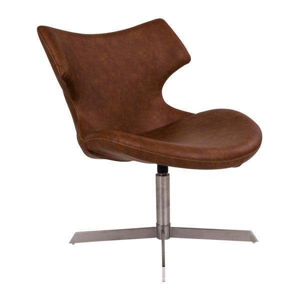 Brązowy fotel House Nordic Zampi