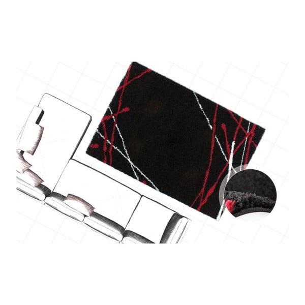 Koberec Edge 228 Black, 80x150 cm