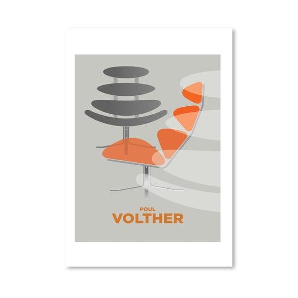 Autorský plakát Poul Volther
