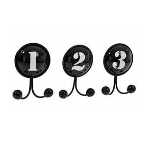 Sada 3 háčků 123