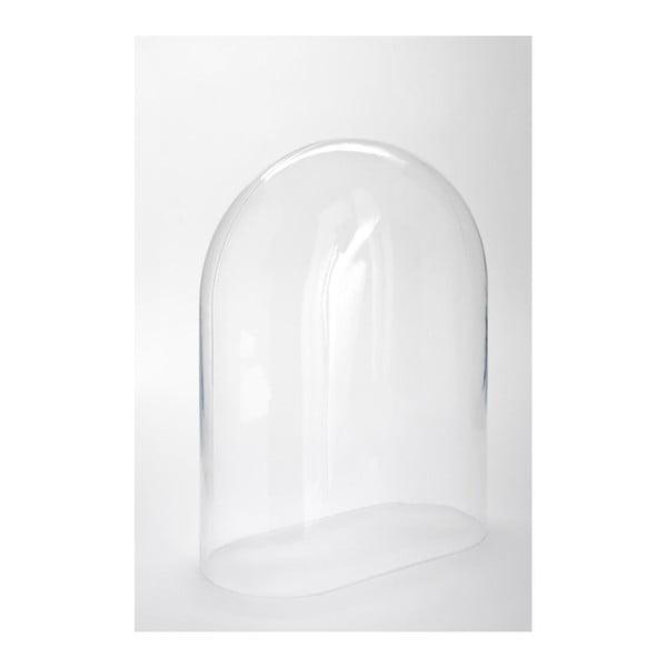 Skleněný poklop Oval, 30x15,5x40 cm