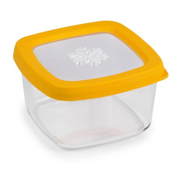 Snowflake sárga élelmiszer tároló, 0,5l - Snips